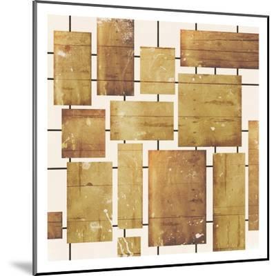 Wood Blocks-Jace Grey-Mounted Art Print