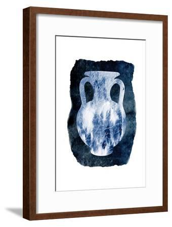 Blue Decor-Sheldon Lewis-Framed Art Print