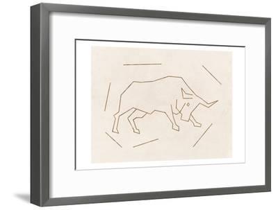 Bull-Sheldon Lewis-Framed Art Print
