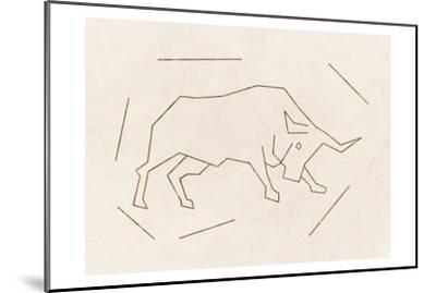 Bull-Sheldon Lewis-Mounted Art Print