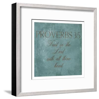 Trust In The Lord-Jace Grey-Framed Art Print