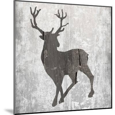 Buck Hunt Gray-Sheldon Lewis-Mounted Art Print