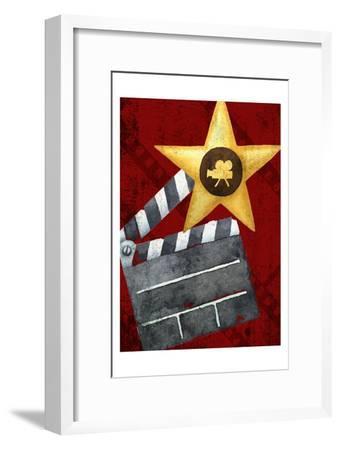 Movie Time 1 v2-Kimberly Allen-Framed Art Print