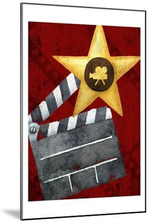 Movie Time 1 v2-Kimberly Allen-Mounted Art Print