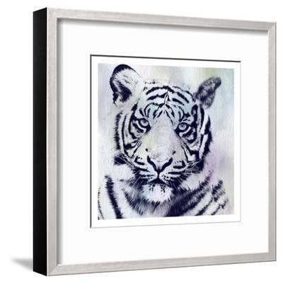 Tiger Roar-Sheldon Lewis-Framed Art Print