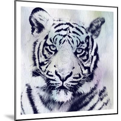 Tiger Roar-Sheldon Lewis-Mounted Art Print