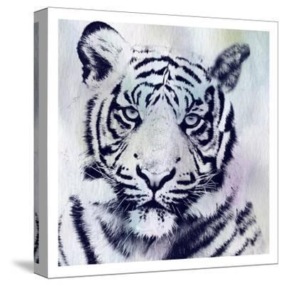 Tiger Roar-Sheldon Lewis-Stretched Canvas Print