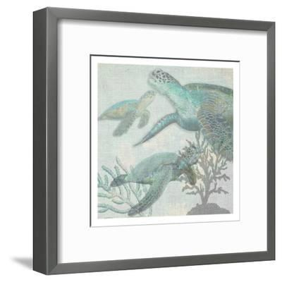 Turtles-Sheldon Lewis-Framed Art Print