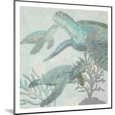 Turtles-Sheldon Lewis-Mounted Art Print
