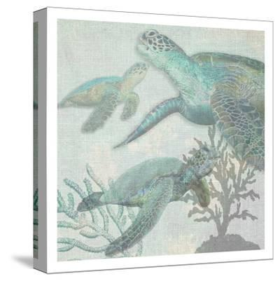 Turtles-Sheldon Lewis-Stretched Canvas Print