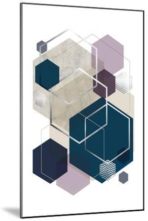 Abstract Geo SoftLuxe-Urban Epiphany-Mounted Art Print