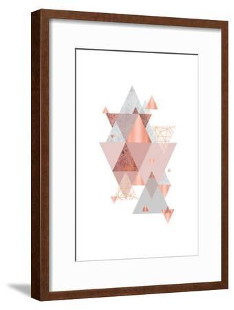 Love Joy Geo 2-Urban Epiphany-Framed Art Print