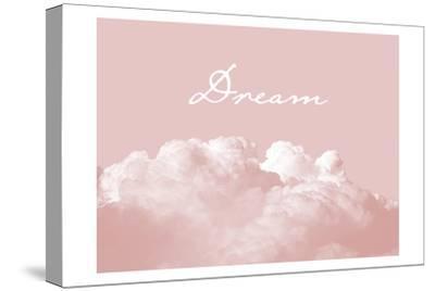 Blush Pink Dream-Urban Epiphany-Stretched Canvas Print