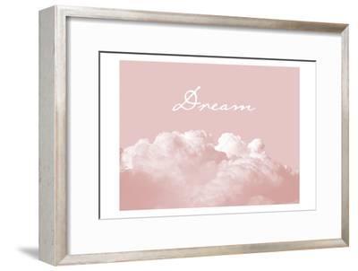 Blush Pink Dream-Urban Epiphany-Framed Art Print
