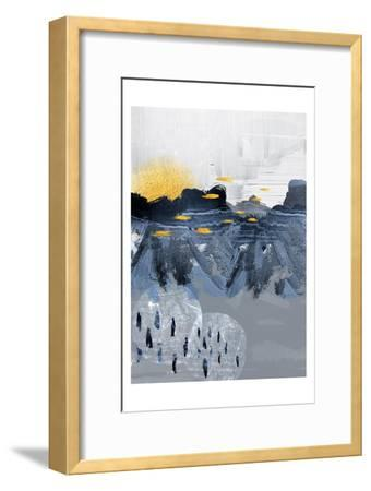 Abstract Landscape-Urban Epiphany-Framed Art Print