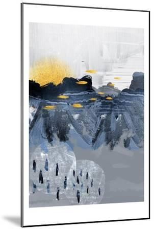 Abstract Landscape-Urban Epiphany-Mounted Art Print