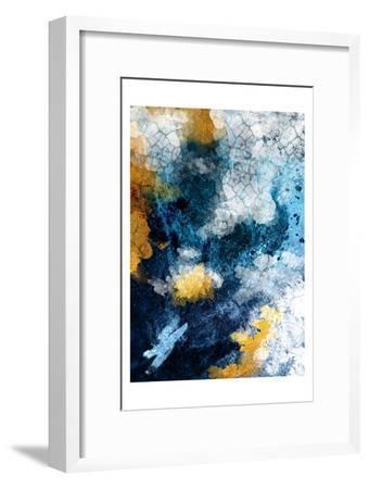 Abstract Conversation-Urban Epiphany-Framed Art Print