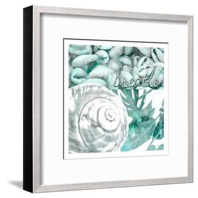 Seaside 4-Kimberly Allen-Framed Art Print