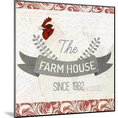 The Farm House-Kimberly Allen-Mounted Art Print