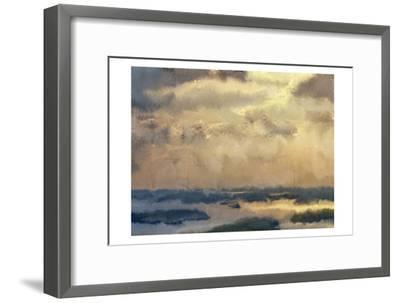 Morning Sky-Kimberly Allen-Framed Art Print