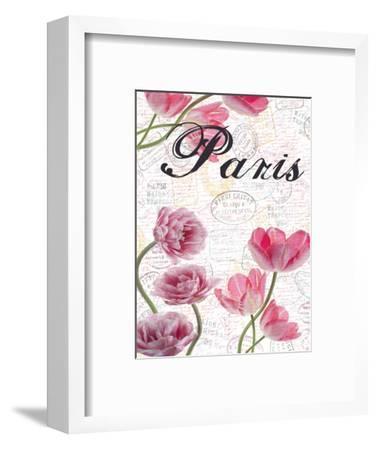 All Things Paris 5-Sheldon Lewis-Framed Art Print