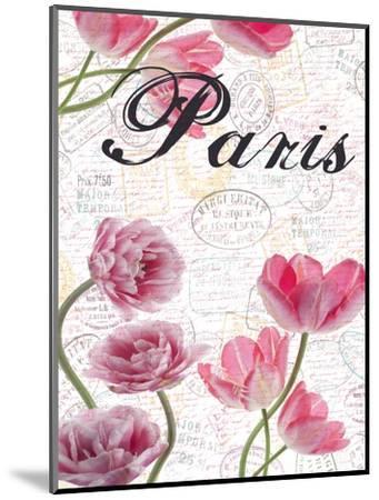 All Things Paris 5-Sheldon Lewis-Mounted Art Print