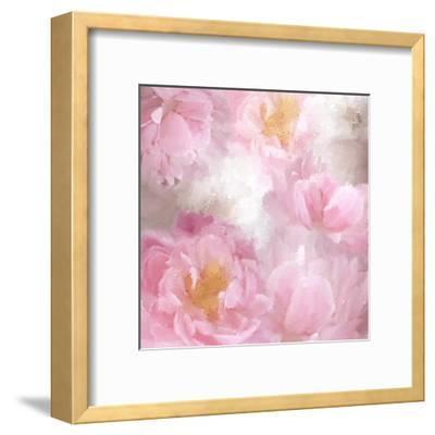 Painted Peonies-Kimberly Allen-Framed Art Print