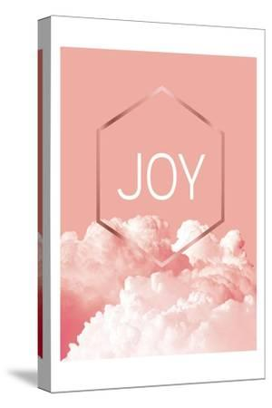 Love Joy Geo 3-Urban Epiphany-Stretched Canvas Print