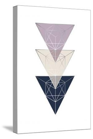 Geo Triangle SoftLuxe-Urban Epiphany-Stretched Canvas Print