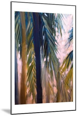 Palm Trees 2-Boho Hue Studio-Mounted Art Print