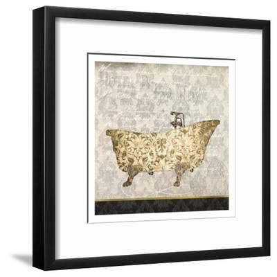 In The Hotel 1-Kimberly Allen-Framed Art Print