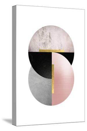 Deco Geo 1-Urban Epiphany-Stretched Canvas Print