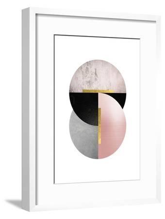 Deco Geo 1-Urban Epiphany-Framed Art Print