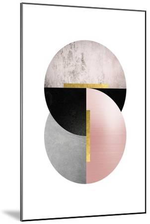 Deco Geo 1-Urban Epiphany-Mounted Art Print