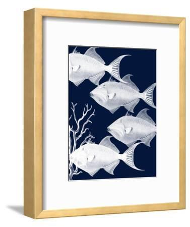 Coastal Orchestra-Sheldon Lewis-Framed Art Print