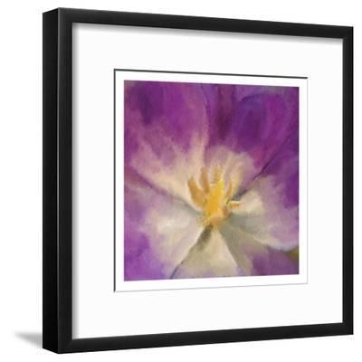 Purple Bloom-Kimberly Allen-Framed Art Print