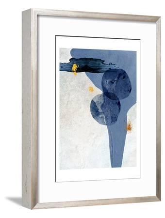 Minimalist Abstract-Urban Epiphany-Framed Art Print