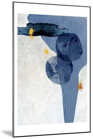 Minimalist Abstract-Urban Epiphany-Mounted Art Print