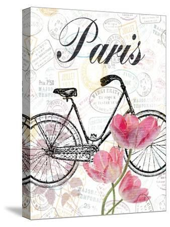 All Things Paris-Sheldon Lewis-Stretched Canvas Print