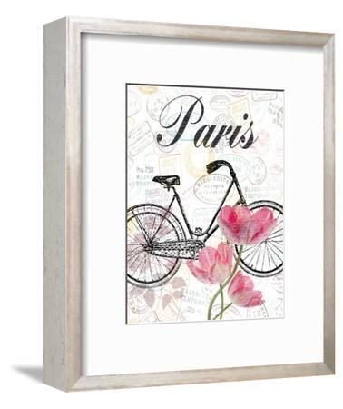 All Things Paris-Sheldon Lewis-Framed Art Print