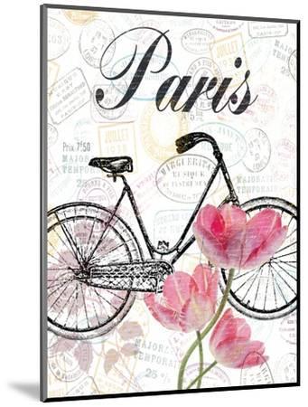 All Things Paris-Sheldon Lewis-Mounted Art Print