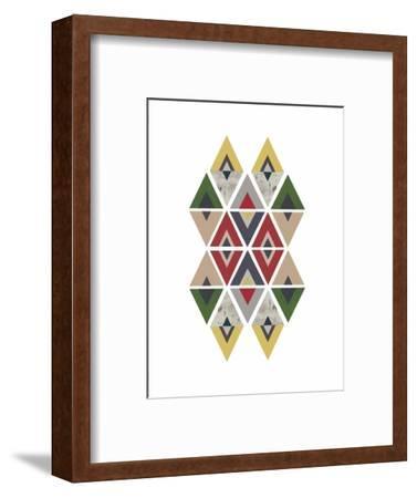 Mid Century Safari F-Urban Epiphany-Framed Art Print