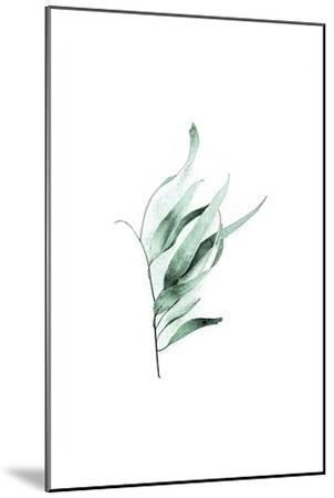 Tender Leaves 2-Urban Epiphany-Mounted Art Print