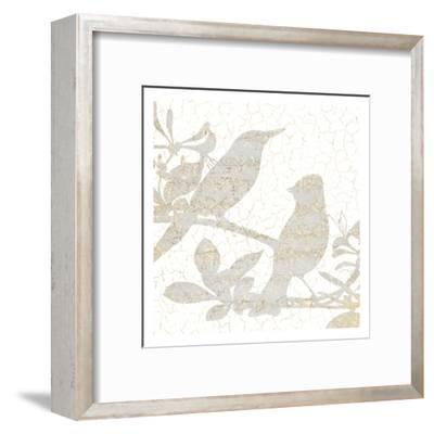 Bird Silhouette 2-Kimberly Allen-Framed Art Print