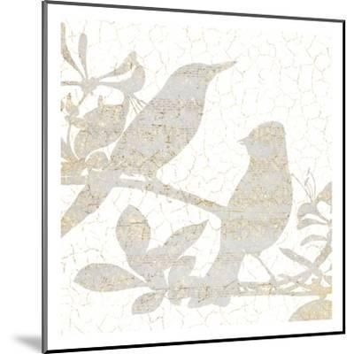 Bird Silhouette 2-Kimberly Allen-Mounted Art Print