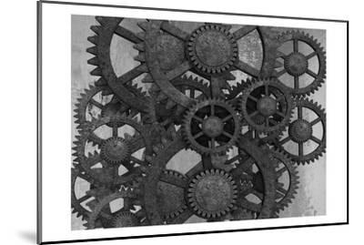 Gears In Motion-Sheldon Lewis-Mounted Art Print
