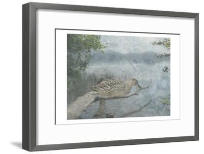 Sitting Duck-Sheldon Lewis-Framed Art Print