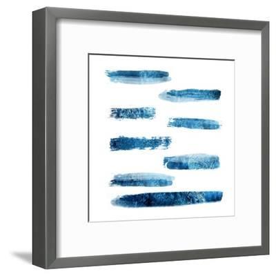 Indi Abstract Foil 2-Sheldon Lewis-Framed Art Print