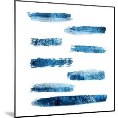 Indi Abstract Foil 2-Sheldon Lewis-Mounted Art Print