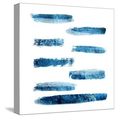 Indi Abstract Foil 2-Sheldon Lewis-Stretched Canvas Print